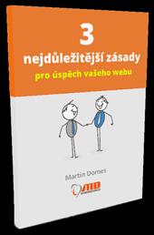 PDF kniha: 3 nejdůležitější zásady pro úspěch vašeho webu